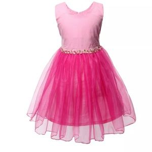 New beautiful tulle bottom girls dress 👗